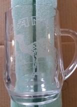 Vintage  CAMEL CIGARETTES Etched Glass  Drinking Mug - $24.75
