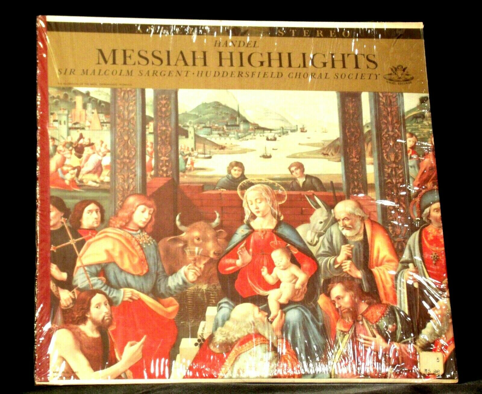 Handel ‎– Messiah Highlights AA-191763 Vintage Collectible