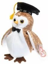 Ty Beanie Baby Wisest 2000 Graduation Owl NEW - $5.93