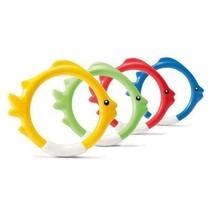 Intex Diving Swimming Pool Kids Toy Play Underwater Fish Rings Sticks, 4... - $21.10