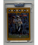 2008 Topps Chrome Gold Refractors #TC158 Philip Rivers 154/199 - $19.99