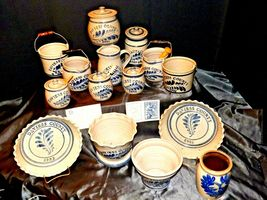 Daviess County WESTERWALD Pottery 14 piece collection AB 319 image 5