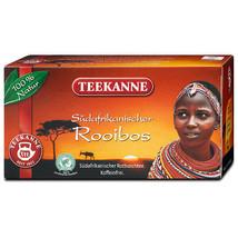 Teekanne South African ROOIBOS Tea - 20 tea bags- Made in Germany - $5.53