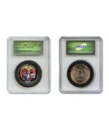 LEBRON JAMES NBA Rookie Colorized JFK Half Dollar US Coin in Ltd. Slabbe... - €8,83 EUR