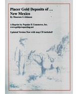 Placer Gold Deposits of New Mexico ~ Gold Prospecting - $15.95