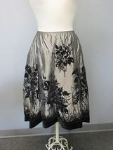 MSK Black Charcoal Rayon Elastic Waist Velvet D... - $93.84