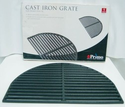 Primo 00361 Half Oval Cast Iron Cooking Grate Color Black Size XL image 1
