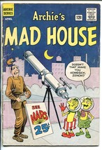 Archie's Madhouse #18 1962-SCI-FI HORROR-ROBOTS-ALIENS-NEW Format BEGINS-good - $44.14