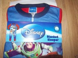 Size 18 Months Disney Toy Story Buzz Woody Pajamas Blanket Sleeper Foote... - $14.00