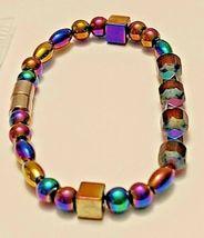 Magnetic Hematite Bracelet 7 inch  Single Strand  (MAG-004) image 3