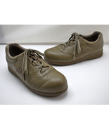 P W Minor Leisure 77309 Fall Taupe Leather Lace Up Shoes - Women's 10 2W   - $31.30