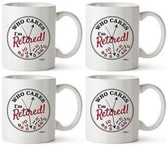 Retirement Clock 4 Pack Mug - $60.56