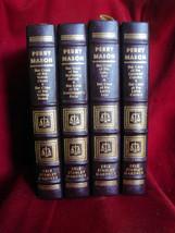 Erle Stanley Gardner Perry Mason Four Volume Book Set Easton Press. Leat... - $215.60