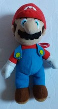 Super Mario Brothers 7 Inch Nintendo Stuffed Plush Doll Toy Mario with clip - $9.04