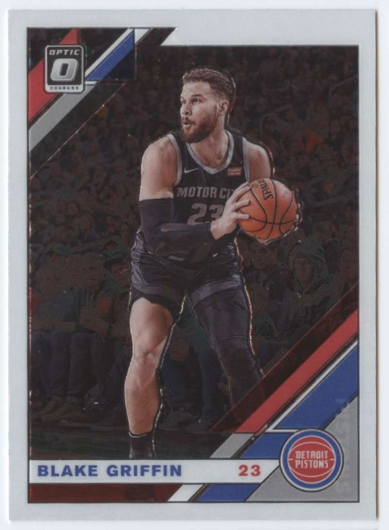 Primary image for 2019-20 Donruss Optic #136 Blake Griffin Pistons