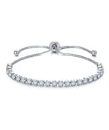 Adjustable Tennis Bracelets for women AAA Cubic Zirconia Silver color - $9.99