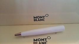 MontBlanc pen replacement spare parts Mont Blanc Lower Barrel White Plat... - $93.34