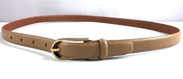 Ralph Lauren Belt Womens Size XL Tan Leather - $27.67