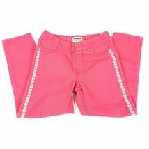 OshKosh B'gosh Elastic Waist Jeans Embroider Side Detail Size 6 - $11.21