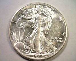 1940 Walking Liberty Half Choice About Uncirculated Ch. Au Nice Original Coin - $33.00