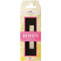 Bohin Milliners Hand Needles, Size 10, 15 Per Package - $7.21