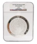 Mexico $100 Pesos, 1 kg Silver ProofLike Coin,2011,Mint,Aztec Calendar N... - $1,199.99