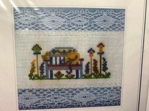 Primary image for Design Connection Garden Bench Fingertip Towel Cross Stitch Kit #K7-939