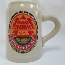 Red Hook Brewery ESB Beer Mug Rich Amber Ale Ceramic Stoneware Stein 0.5... - $36.00