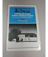 cobra 40 channel 19 plus manual citizen band 2 way radio (A12) - $14.85