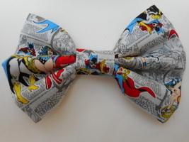 Bat Girl Big Bow Girls Barrette - $8.00