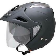 AFX Helmet Peak with Screws for FX-50 Flat Black 0132-0553 - $18.52