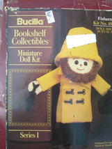Lot of 2 Bucilla Miniature Fisherman Doll Kits Designed by Marsten and M... - $5.70
