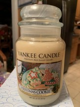 Yankee Candle Original Christmas Cookie Collector's Edition Large 22 Oz ... - $34.99