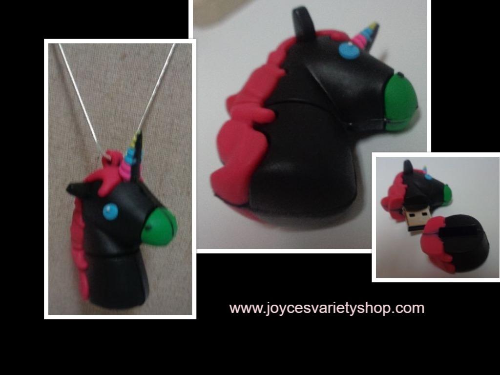 Nightmare pony necklace web collage
