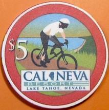 $5 Casino Chip. Cal-Neva, Lake Tahoe, NV. V99. - $9.50