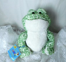 "GANZ Plush Spotted Frog Webkinz 8"" Green Plush Toy with Tag HM142 - Supe... - $12.19"
