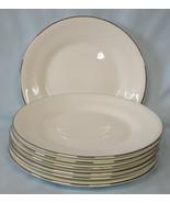 Wedgwood Silver Ermine Bread or Dessert Plate, Set of 7 - $50.38