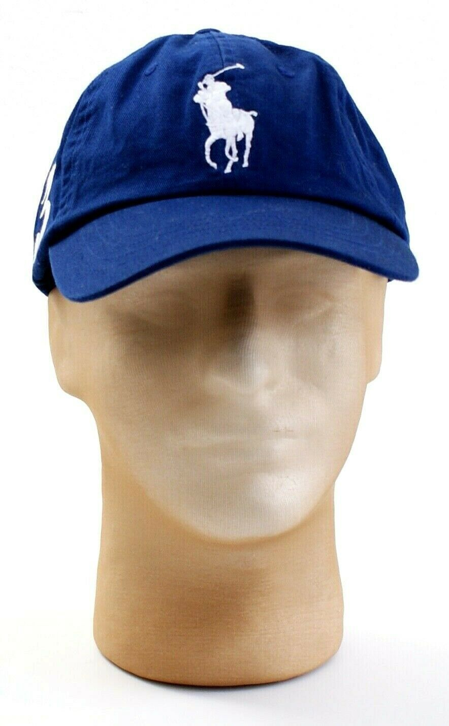 ac4e3052b4984 57. 57. Previous. Polo Ralph Lauren Blue Big White Pony Adjustable Cap Hat  Adult One Size NWT · Polo ...