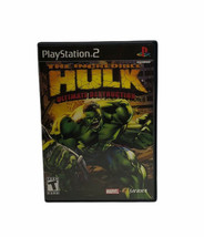 PlayStation 2 Incredible Hulk:Ultimate Destruction (PS2, 2005) Complete Tested - $29.99