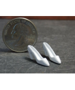 1 Set Dollhouse Miniature Metal High Heels Shoes 1:12 one inch scale - DL - $24.00