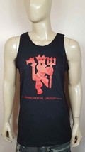 Manchester United F.C. Black Tank Top The Red Devils Soccer Man U - $17.99+