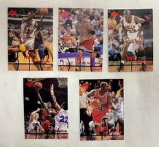Lot of 5 Michael Jordan Upper Deck MJx Cards #67/69/76/79/84 1998 Lot #3 - $19.79