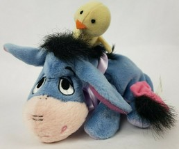 "Disney Spring Eeyore 8"" Plush Donkey Baby Yellow Chick Easter Stuffed An... - $15.00"