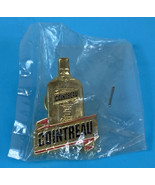 Cointreau Liquor Bottle Lapel Hat Pin Gold Tone Vintage RARE France NEW ... - $8.18