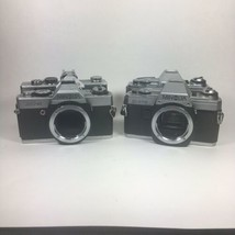 Minolta Camera Lot X-370 x2, Minolta SR-7, Minolta XG-4 Parts Or Repair - $49.49