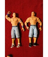Lot of 2 WWE John Cena Basic Wrestling Action Figures WWE Toys Mattel - $15.99
