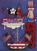 Tole Decorative Painting Simple Sassy Easter Patriotic Lisa Williams Book - $13.99