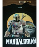 STAR WARS The Mandalorian T-Shirt MENS SMALL NEW BABY YODA The Child  - $19.80