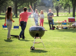 Outdoor Charcoal Grill BBQ Patio Grills Portable Barbecue Grilling Cooke... - $150.92