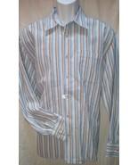 Tommy Bahama Men's XL Long Sleeve Button Shirt Multi-Color Blue Striped ... - $24.93